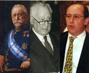 Faustino Rodríguez San Pedro, Ramón Rato y Rodrigo Rato