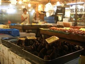 MOLUSCO ORENTAL.- Cientos de especies desconocidas en España se  venden en el mercado de Tokyo