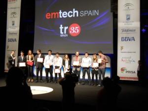 Entrega de los premios Tr35 Spain