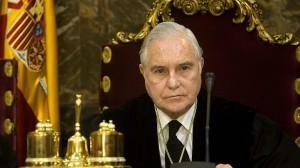 Carlos Dívar, presidente del Tribunal Supremo y del Consejo General del Poder Judicial