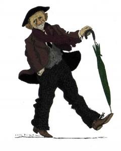 Pío Baroja, por David Pintor