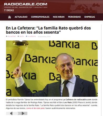 Entrevista de Fernando Berlin a Ramón Tijeras en La Cafetera, de Radiocable